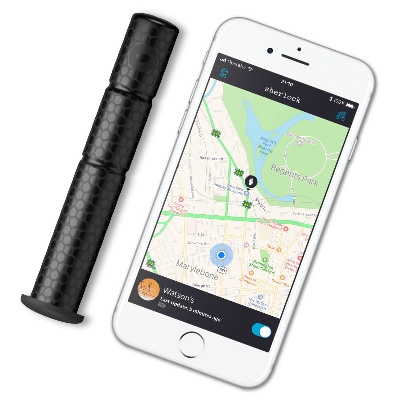 Sherlock GPS Antitheft device bicycles